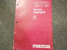 1979 Mazda 323 Glc Service Highlights Manual Oem Factory Book Rare 79 - $9.07