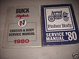 1980 Buick Skylark Chassis Body Service Shop Repair Manual Set OEM W FIS... - $90.07