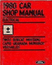 1980 Ford MERCURY GRANADA BODY CHASSIS Repair Service Shop Manual DEALER... - $22.67