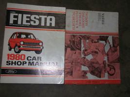 1980 Ford Fiesta Car Service Shop Repair Manual SET FACTORY OEM BOOKS - $24.70