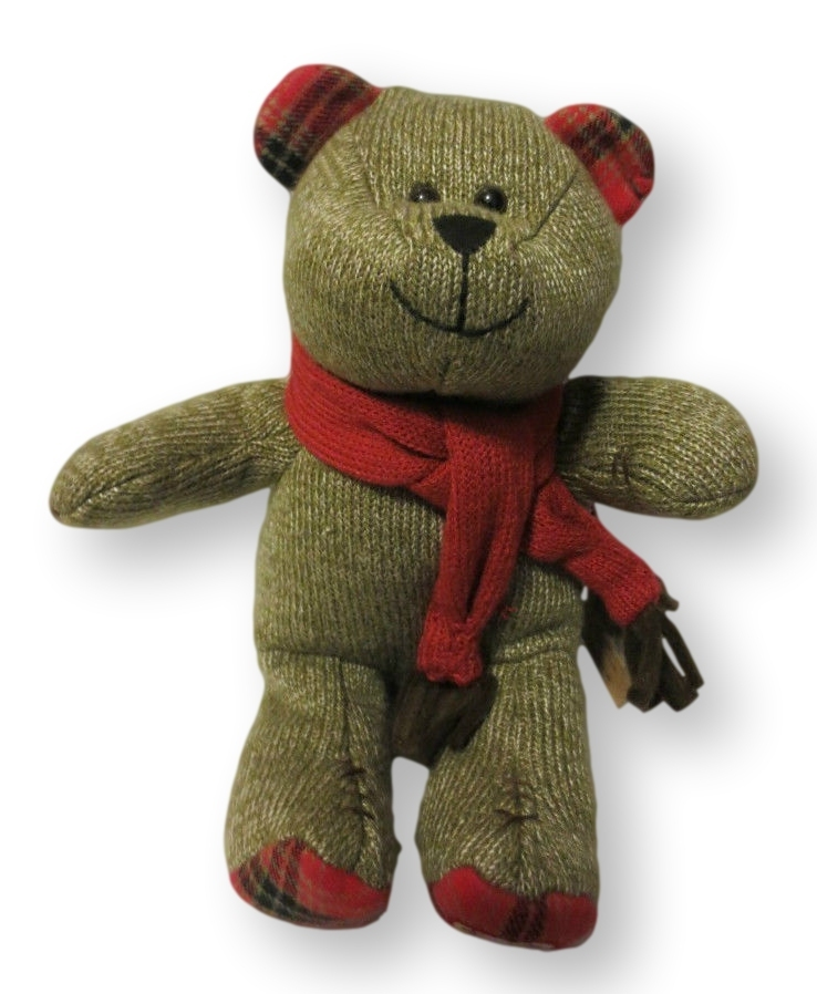 Starbucks Coffee Bearista Bear 88th Edition Christmas Holiday 2009 Red Scarf NWT