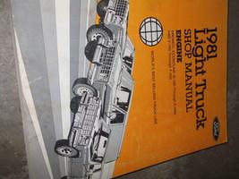 1981 Ford F100 F-150 F250 F300 BRONCO ECONOLINE Repair Shop Service Manu... - $98.91