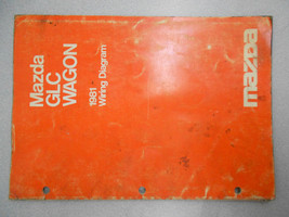 1981 Mazda GLC Wagon Service Electrical Wiring Manual Factory OEM RARE BOOK - $7.92