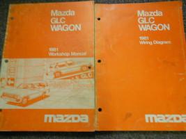 1981 Mazda Glc Wagon Service Repair Shop Manual Set Factory Oem Rare Books 81 - $19.76