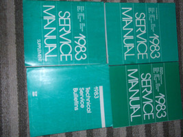 1983 Plymouth Horizon Shop Repair Service Manual Set Factory Oem Mopar Books - $148.45