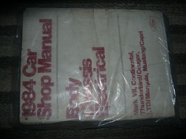 1984 Ford Mustang Service Shop Repair Manual FACTORY Body Chassis Electr... - $128.69