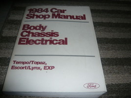 1984 Ford Mercury LYNX EXP Service Shop Repair Manual - $9.85