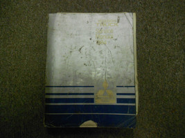 1984 Mitsubishi Truck Service Repair Shop Manual Worn Factory Oem Book 84 Deal - $11.08