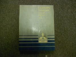 1984 Mitsubishi Cordia Tredia Service Repair Manual Oem - $18.18