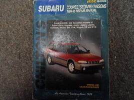 1985-1996 Chilton Subaru XT SVX Outback Legacy Justy Service Repair Manu... - $59.40