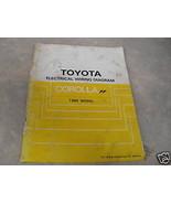 1985 Toyota Corolla FF Electrical Service Repair Manual - $19.76