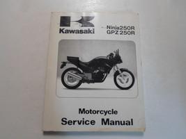 1986 1987 Kawasaki Ninja250 R Gpz250 R Service Manual Worn Stained 1st Edition - $19.79
