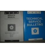 1987 CHRYSLER NEWPORT 5TH AVENUE DIPLOMAT FURY Service Shop Repair Manua... - $79.18