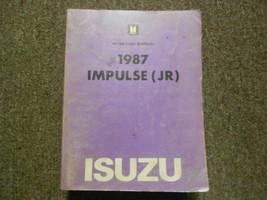 1987 ISUZU IMPULSE JR Service Repair Shop Manual FACTORY OEM BOOK 87 - $18.97