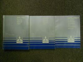 1987 Mitsubishi Galant Service Repair Shop Manual Set Factory Oem 3 Vol Set - $23.75