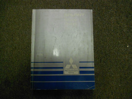 1987 MITSUBISHI Galant Service Repair Shop Manual Volume 1 Engine Chassis OEM - $19.79