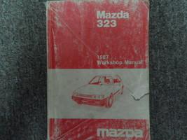 1987 Mazda 323 Service Repair Shop Manual Factory Oem Glove Box Edition Book 87 - $14.84