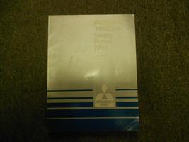 1987 MITSUBISHI Cordia Tredia Service Repair Shop Manual Volume 1 Engine OEM 87 - $27.68