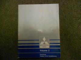1987 Mitsubishi Van Wagon Service Shop Manual Factory Oem Vol 2 Electrical Deal - $40.38