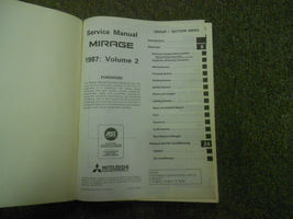 1987 Mitsubishi Mirage Service Repair Shop Manual 3 Vol Set Factory Book 87 Oem - $47.47