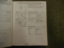 1987 MITSUBISHI Truck Service Repair Shop Manual VOL 1 Engine Chassis Body 87 - $35.60