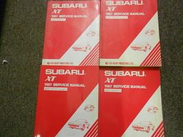 1987 Subaru XT Service Repair Shop Manual HUGE SET FACTORY OEM BOOKS 87 - $102.92