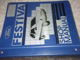 1988 FORD FESTIVA Service Repair Shop Workshop Manual OEM 88 DEALERSHIP OEM - $93.49