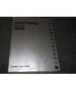 1988 Honda ACCORD Service Repair Shop Workshop Manual OEM FACTORY 1988 Book - $79.19