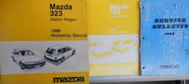 1988 Mazda 323 Station Wagon Service Repair Shop Manual  FACTORY OEM BOOK 87 - $44.54