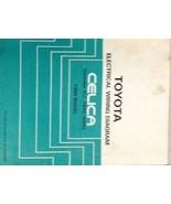 1988 TOYOTA CELICA Electrical Wiring Diagram EWD Service Shop Repair Man... - $89.19