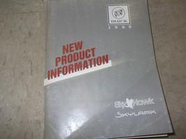 1989 Buick SKYHAWK Service Shop Repair Manual NEW PRODUCT INFORMATION DE... - $9.85