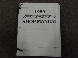 1989 FORD Probe Service Shop Repair Manual FACTORY OEM MISSING COVERS DEAL - $10.84