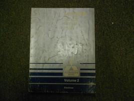 1989 MITSUBISHI Mirage Service Repair Shop Manual Volume 2 Electrical OEM 89 - $15.86