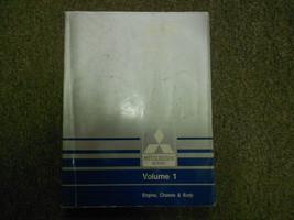 1989 MITSUBISHI Truck Service Repair Shop Manual Volume 1 Engine Chassis Body 89 - $18.19