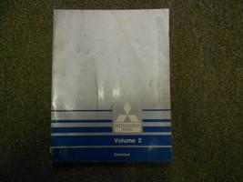 1989 Mitsubishi Sigma V6 Service Shop Manual Volume 2 Electrical Factory Oem 89 - $10.29