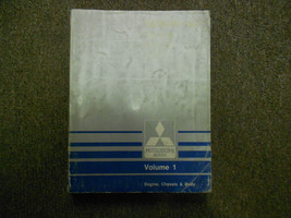 1989 MITSUBISHI Sigma V6 Service Shop Manual Volume 1 Engine Chassis Body OEM 89 - $11.10