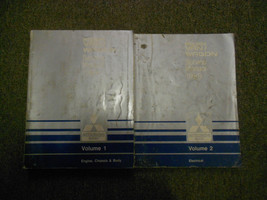 1989 Mitsubishi Van Wagon Service Repair Shop Manual Set 2 Volume Factory Oem X - $130.89