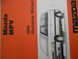 1989 Mazda Mpv M P V Service Repair Shop Manual Factory Oem Rare Book 89 - $11.21