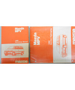 1989 Mazda MPV Service Shop Repair Manual Set FACTORY OEM RARE How to FI... - $35.60