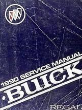 1990 BUICK REGAL Factory Service Shop Repair Manual SET W 3800 ENG SUPPL... - $70.41