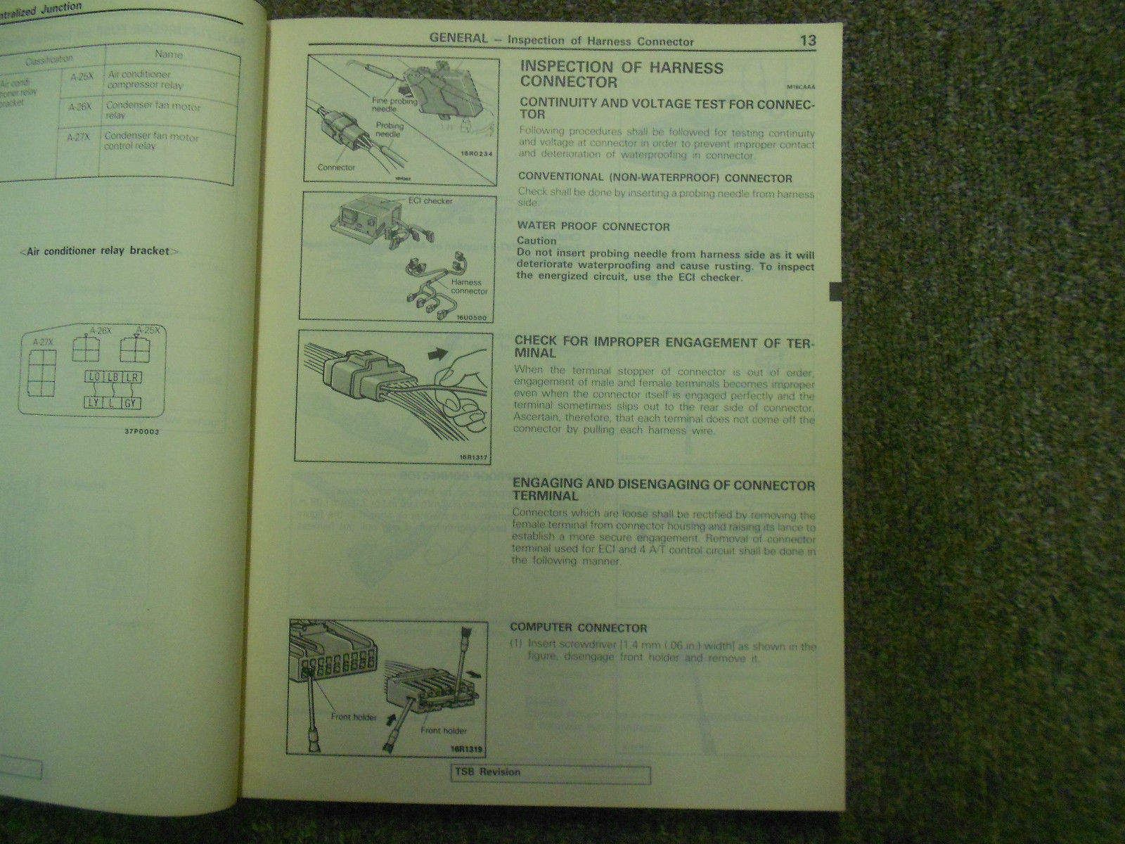 1990 MITSUBISHI Mirage Service Repair Shop Manual Volume 2 FACTORY OEM BOOK 90
