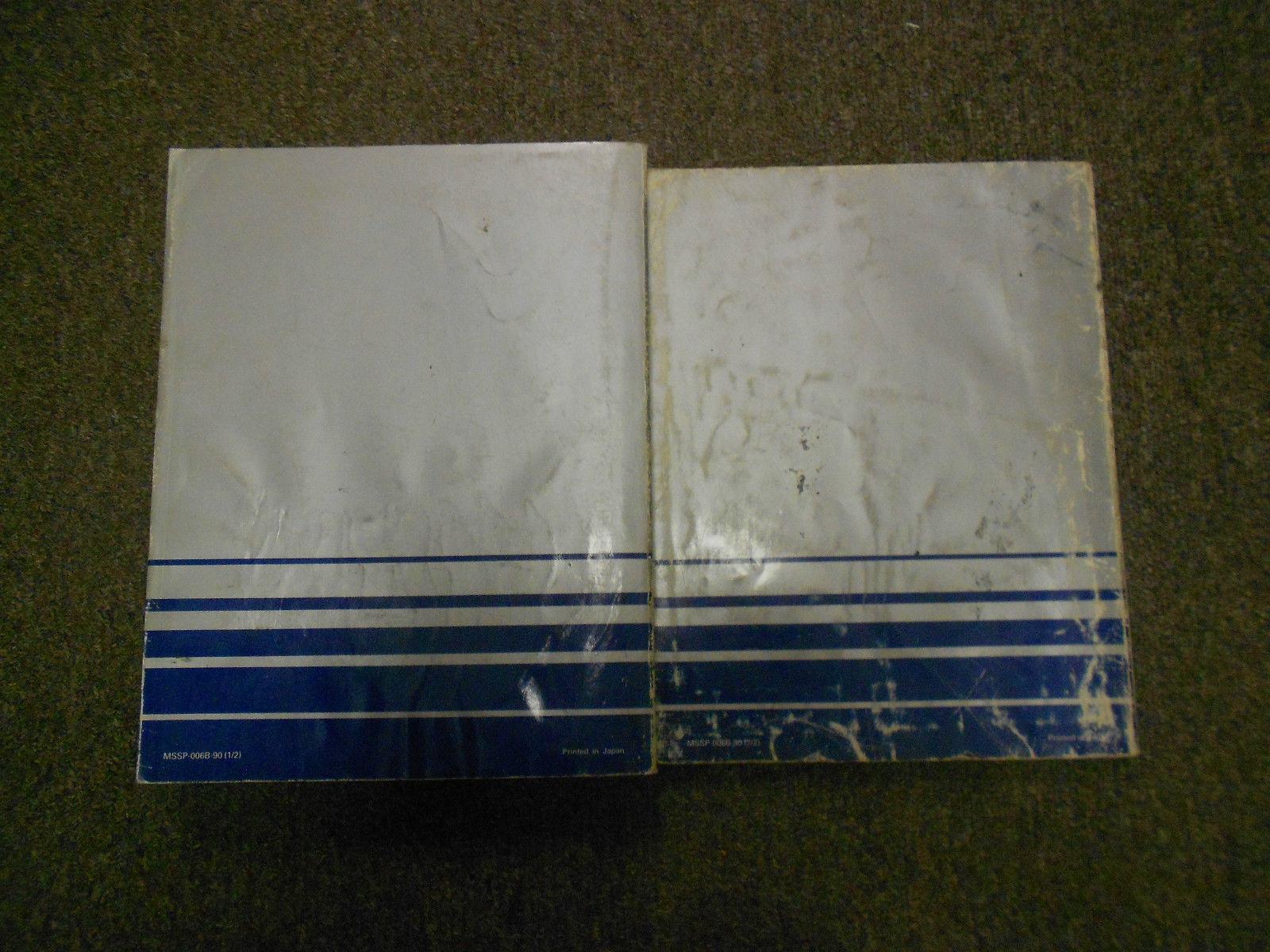 1990 MITSUBISHI Mirage Service Repair Shop Manual FACTORY OEM BOOK 90 2 VOL SET