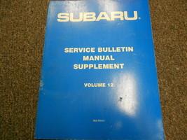 1990 Subaru Service Bulletins Service Repair Shop Manual FACTORY OEM BOO... - $19.75