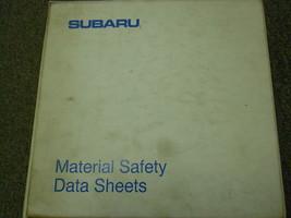 1990 Subaru Material Safety Service Repair Shop Manual FACTORY OEM BOOK 90 - $35.60