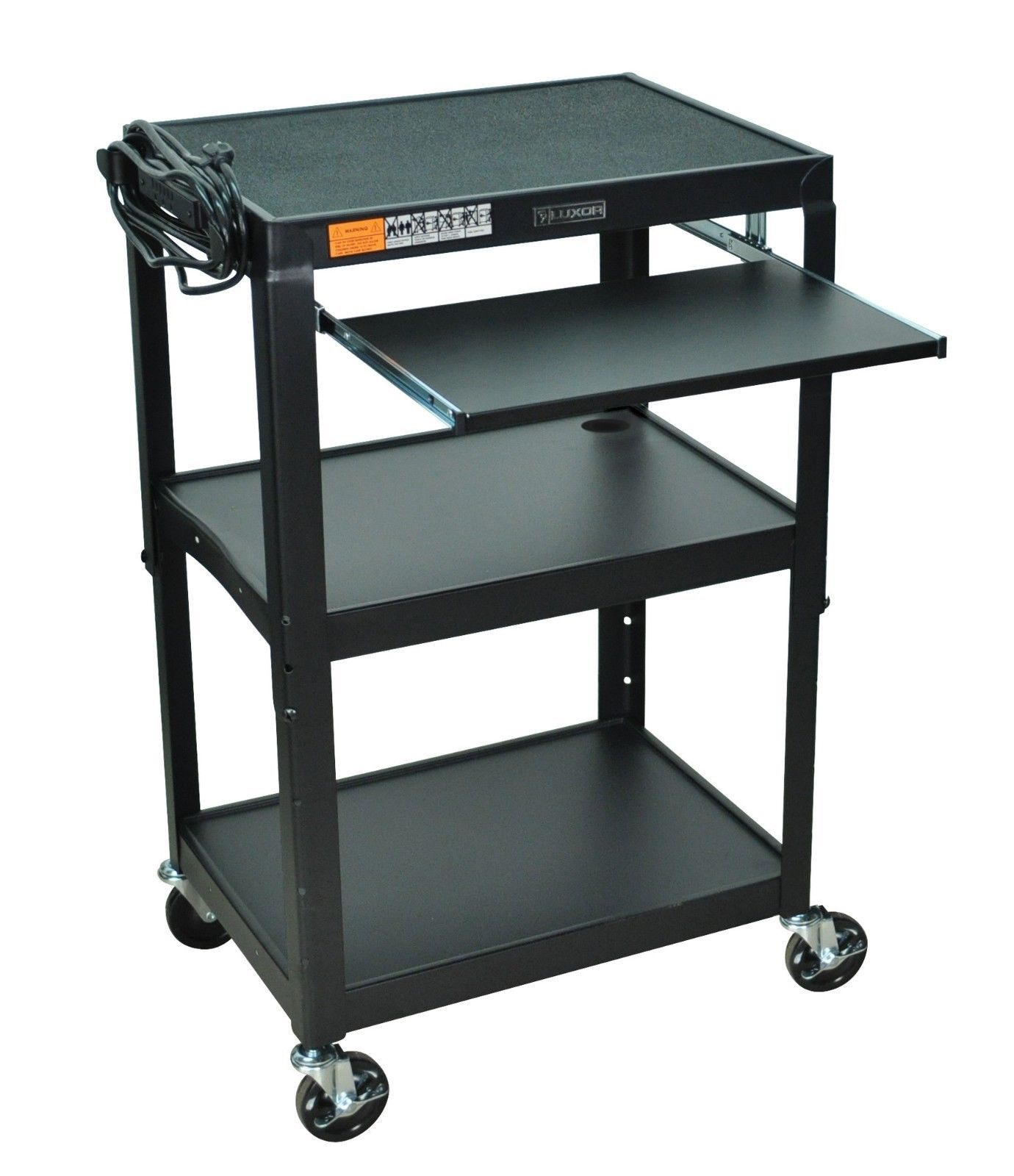 Projector Cart Laptop Workstation Standing Stand Up