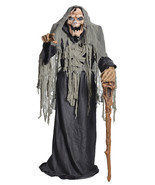 PESTILENCE THE SMOLDERING REAP LIFESIZE 6' ANIM... - $257.39
