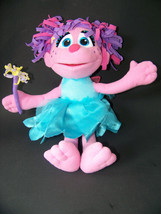 Abby Cadabby Sesame Street Plush Doll Fairy Talking Toy  Elmo Fisher Price - $14.65