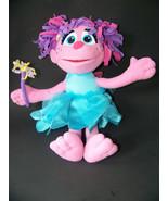 Abby Cadabby Sesame Street Plush Doll Fairy Talking Toy  Elmo Fisher Price - $14.65