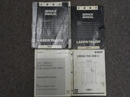1991 Chrysler Laser Talon Service Repair Shop Manual 4 VOLUME SET DAMAGE... - $69.25