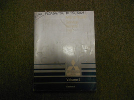 1991 MITSUBISHI Mirage Service Repair Shop Manual Volume 2 Electrical OEM 91 - $15.07